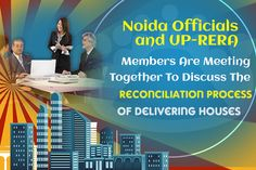 UP-RERA members meet together Noida Authority to discuss delivery of houses through reconciliation. Meeting was held on Friday. Hold A Meeting, Hold On, Delivery, Friday, Author, Houses, Homes, Naruto Sad, Writers