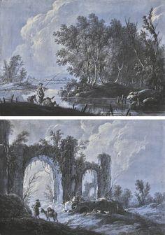 37k - pillement, jean-baptiste lands ||| landscape ||| sotheby's l17034lot9fq7men