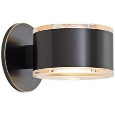 """Holtkoetter Up-Down 5 1/4"""" Wide Old Bronze Wall Sconce: Comes in other finishes. $458"""