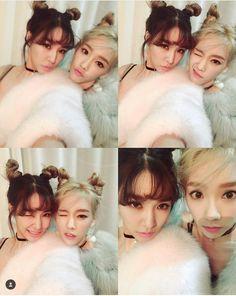 SNSD TaeYeon 태연, Tiffany 티파니