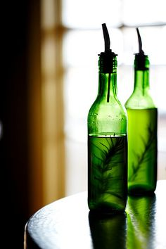 infused oil - for recipe go to http://www.wikihow.com/Infuse-Olive-Oil