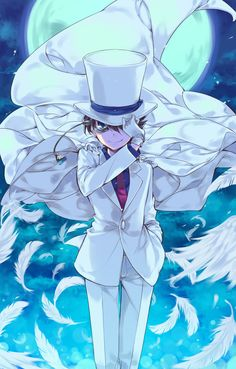police x kaito kid - Google Search
