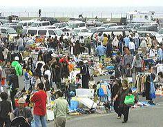 2012年10月21日(日)  第12回豊浜フリーマーケットが開催です
