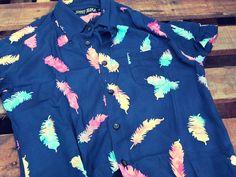 Handmade Psychedelic Batik print (detail) Shirt by: JohnnyZebra