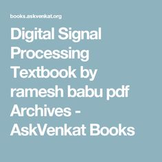 Digital signal processing 4th edition 9780131873742 john g digital signal processing 4th edition 9780131873742 john g proakis dimitris k manolakis isbn 10 0131873741 isbn 13 978 0131873742 fandeluxe Image collections