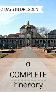 Planning a trip to Dresden, Germany? This guide includes a complete two-day itinerary plus practical information on how to get there and around, where to stay and where to eat.