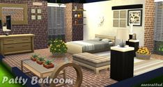 Sims My Rooms: Patty Bedroom • Sims 4 Downloads