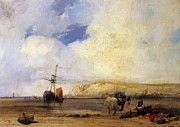 "New artwork for sale! - "" On The Coast Of Picardy 1826 by Bonington Richard Parkes "" - http://ift.tt/2mkBj61"