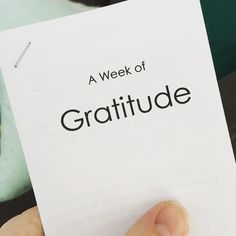 A free printable booklet to help YW focus on a simple act of gratitude each day.  From Stand & Shine Magazine #comefollowmecurriculum #yw #lds