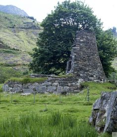 Glen Elg Brochs: Dun Telve, North & Grampian. Two broch towers that stand more than 10 metres high. #Scotland #history