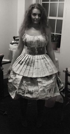 Sew a Newspaper Dress