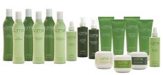 Loma Organics Product Line.. Very eco-friendly.  Love what they do for my hair!