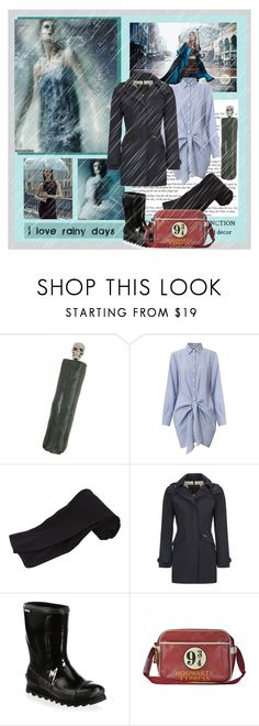 """Lonely Rainy Days 🌧️"" by lablanchenoire ❤ liked on Polyvore featuring Alexander McQueen, Fat Face, Woolrich John Rich & Bros and SOREL"