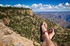 Luna Sandals Copper Canyon Mexico