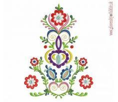 Výšivka Vajnory 20x27 cm Hungarian Embroidery, Folk Embroidery, Brother Embroidery Machine, Machine Embroidery Designs, My Roots, Painting Cabinets, Body Art Tattoos, Folk Art, Tatting