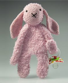 Haakpatroon speenknuffel konijn Kim #haakpatroon #hakenisleuk #crochet #crochetpattern #häkeln #haken