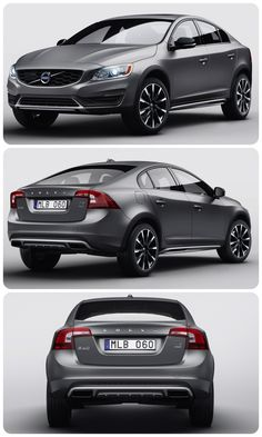 The Epic #Volvo S60 Cross Country - what a nice looking car!