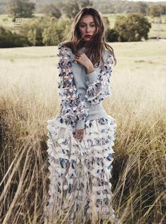 Star Bright - Alycia Debnam-Carey by Nicole Bentley for Vogue Australia May 2016