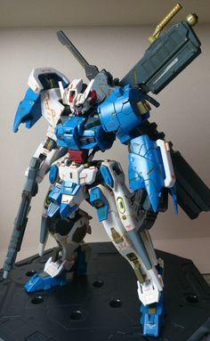 GUNDAM GUY: HG 1/144 Gundam Astaroth - Customized Build