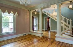 Historic Properties for Sale - Burlington, NC, Glencoe Mill Owner's House C. 1897