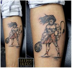 # Hanhuman tattoo #Bajrangbali # ;) Get inked from Experienced Tattoo Professional.. Call: Sunil C K @ +91 9035217218 to book your appointment.  www.facebook.com/tattooimpec