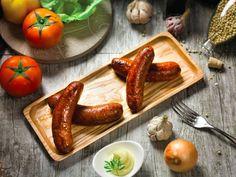 Xúc xích nổi tiếng tp hcm Sausage, Artisan, Meat, Vegetables, Food, Sausages, Veggie Food, Vegetable Recipes, Meals