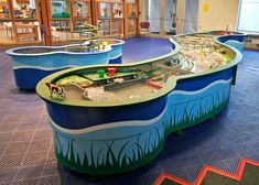 James River Water Play — boss display