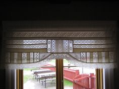 Valance Curtains, Pergola, Outdoor Structures, Home Decor, Decoration Home, Room Decor, Outdoor Pergola, Home Interior Design, Valence Curtains