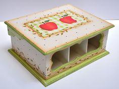 Eliane Artesanato: Caixa Chá de maças
