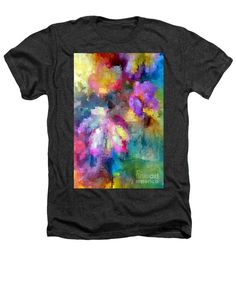 Heathers T-Shirt - Abstract Flower 0800