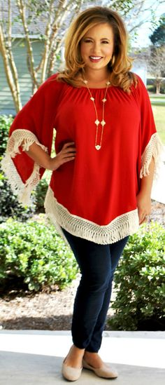 Perfectly Priscilla Boutique - Sleigh Bells Ring Top, $40.00 (http://www.perfectlypriscilla.com/sleigh-bells-ring-top/)
