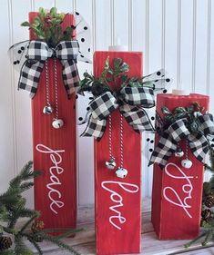 legno fai da te artigianato natalizio ! #wood #christmas #crafts