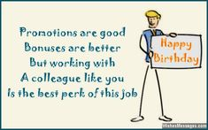 Birthday Wishes For Colleagues Quotes And Messages