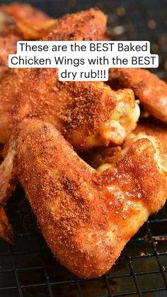 Best Baked Chicken Wings, Chicken Wing Recipes, Best Chicken Wing Recipe, Cooking Chicken Wings, Great Recipes, Favorite Recipes, Appetizer Recipes, Appetizers, Food Dishes