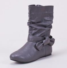 Slouch Bow Boot for them
