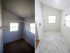 How to lay tile (via abeautifulmess.com)