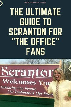 """Are you the biggest fan of """"The Office?"""" Absolutely you are! Check out our compiled list of real locations you can find in Scranton, Pennsylvania. #TheOffice #Scranton #TheOfficeRoadTrip #WhereToGoInPennsylvania #TheOfficeScrantonTrip"""