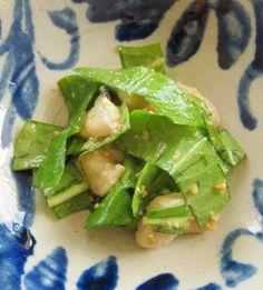 ナーベーラーンブシー   沖縄料理レシピ あじまぁ Okinawa Food, Lettuce, Guacamole, Mexican, Vegetables, Ethnic Recipes, Vegetable Recipes, Salad, Veggies
