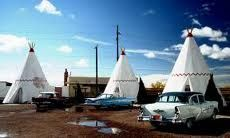 Route 66 Attractions - TeePee Motel in Arizona
