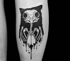Owl tattoo by Roy Tsour