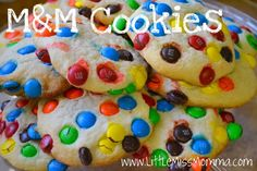 M sugar cookie recipe - based on America's test kitchen sugar cookie recipe, which I love.  Should be great cookies