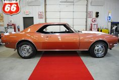 This 1968 Chevrolet Camaro is listed on Carsforsale.com for $43,900 in Germantown, WI. This vehicle includes Full-Size Spare Tire