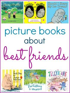 picture books about best friends