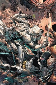 Batman & Robin Eternal #18 by Tony Daniel