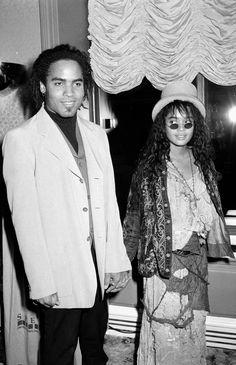 1988年:レニー・クラヴィッツ&リサ・ボネット