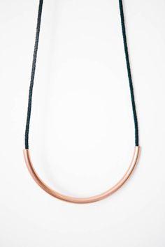 Copper Standard Necklace - @ Parc Boutique