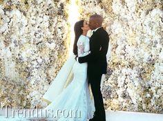 Kim Kardashian ve Kanye West'in düğün fotoğrafları