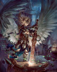 Seiken ( holy sword ) by yuchenghong.deviantart.com on @DeviantArt