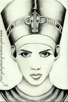 Queen Nefertiti by *Mutemouia on deviantART