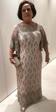 18 Stunning Plus Size Mother Of The Bride Dresses ❤ plus size mother of the br. 18 Stunning Plus Size Mother Of The Bride Dresses ❤ plus size mother of the bride dresses sheath with cape sleeves beaded paulodolce ❤ Mother Of The Bride Plus Size, Mother Of The Bride Dresses Long, Mother Of Bride Outfits, Mothers Dresses, Long Mothers Dress, Mob Dresses, Plus Size Dresses, Wedding Dresses, Wedding Bride